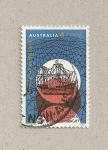 Sellos de Oceania - Australia -  Barco de 1616