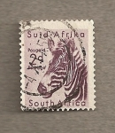 Stamps South Africa -  Cebra