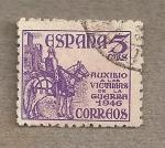 Stamps Europe - Spain -  El Cid a caballo