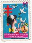 Stamps Guatemala -  Liga Nacional Contra la Tuberculosis