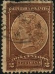 Stamps Argentina -  Primera emisión de sellos oficiales de Argentina.