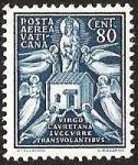 Stamps of the world : Vatican City :  VIRGO LAVRETANA SUCCURRE TRANSVOLANTIEVS