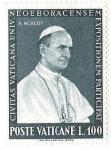 Sellos del Mundo : Europa : Vaticano : POSTE VATICANE - EXPOSITIONEM PARTICIPAT CIVITAS VATICANA UNIV