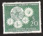 Sellos de America - Chile -  UNIVERSIDAD TECNICA FEDERICO SANTA MARIA - VALPARAISO