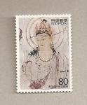 Stamps Japan -  Deidad