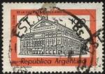 Stamps Argentina -  Teatro Colón de la ciudad de Buenos Aires.