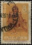 Stamps Argentina -  Monumento a Fray Mamerto Esquiú frente a Iglesia de San Francisco en San Fernando del Valle de Catam