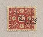 Stamps Norway -  Filigrana