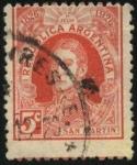 Sellos de America - Argentina -  Libertador General San Martín. Conmemorativo del primer centenario de la Organización del Correo Arg