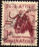 Stamps : Africa : South_Africa :  Gnu