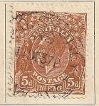 Stamps Oceania - Australia -  Rey Jorge V