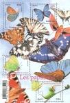 Stamps Europe - France -  Mariposas