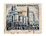 Sellos del Mundo : Europa : Polonia : BUDUJEMY NOWA HUTE