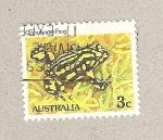 Stamps Australia -  Sapo corroboree australiano