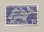 Sellos de Oceania - Australia -  Servicio médico por avión