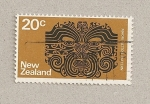 Sellos del Mundo : Oceania : Nueva_Hebridas : Tatuaje maorí