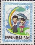 Stamps Mongolia -  Año intern. de la infancia