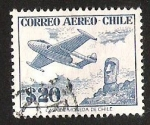Stamps of the world : Chile :  CORREO AEREO CHILE