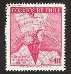 Sellos de America - Chile -  AÑO GEOFISICO INTERNACIONAL