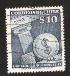 Stamps Chile -  CENTENARIO CAJA DE AHORRO EE. PP