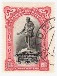 Stamps Europe - Spain -  III Cent. muerte de Cervantes. - Edifil FR13
