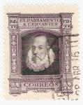 Stamps Spain -  III Cent. muerte de Cervantes. - Edifil FR14