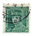 Stamps Czechoslovakia -  GRAL MILAN R. STEFANIK-1880-1919-