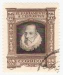 Stamps Spain -  III Cent. muerte de Cervantes. - Edifil FR18