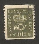 Stamps : Europe : Sweden :  emblema de correos
