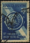 Stamps America - Argentina -  XI Congreso de UPU, Unión Postal Universal realizado en Buenos Aires año 1939.