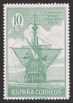 Stamps Spain -  Descubrimiento de América. - Edifil 536