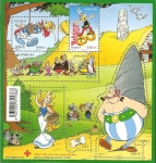 Stamps France -  Asterix