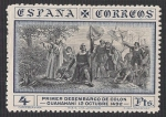 Stamps Spain -  Descubrimiento de América. - Edifil 544