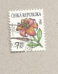Stamps Czech Republic -  Lirio