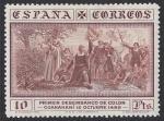 Stamps Spain -  Descubrimiento de América. - Edifil 545