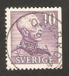 Sellos de Europa - Suecia -  rey gustavo V