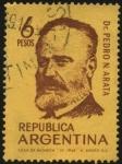 Stamps Argentina -  Dr. Pedro Narciso Arata. 1849 - 1922 Químico, farmacéutico, profesor universitario y médico argentin