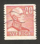 Stamps : Europe : Sweden :  rey gustavo V