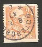 Stamps Sweden -  rey gustavo V