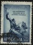 Sellos de America - Argentina -  150 aniversario de la creación de la Bandera Nacional Argentina.