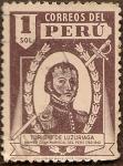 Stamps Peru -  Toribio de Luzuriaga, Primer Gran Mariscal del Perú 1782-1842
