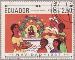 Stamps Ecuador -  NAVIDAD