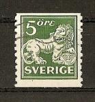 Sellos de Europa - Suecia -  Leon de los Vasa.