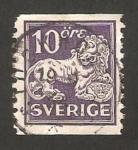 Stamps Sweden -  león de vasa