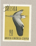 Stamps Poland -  Garza real
