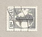 Sellos de Europa - Polonia -  Barco Batory