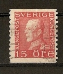 Stamps Europe - Sweden -  Gustavo V