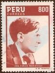 Stamps America - Peru -  José Carlos Mariátegui (1894-1930).