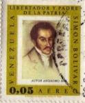 Stamps America - Venezuela -  Venezuela: Simon Bolivar