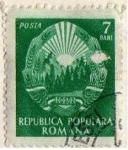 Stamps Italy -  republica popular romana